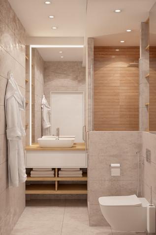 Квартира. ванная из проекта Comfort, фото №90482