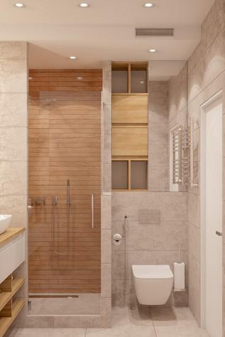 Квартира. ванная из проекта Comfort, фото №90483