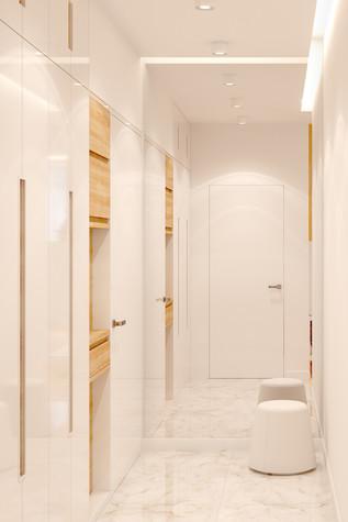 Квартира. прихожая из проекта Comfort, фото №90485