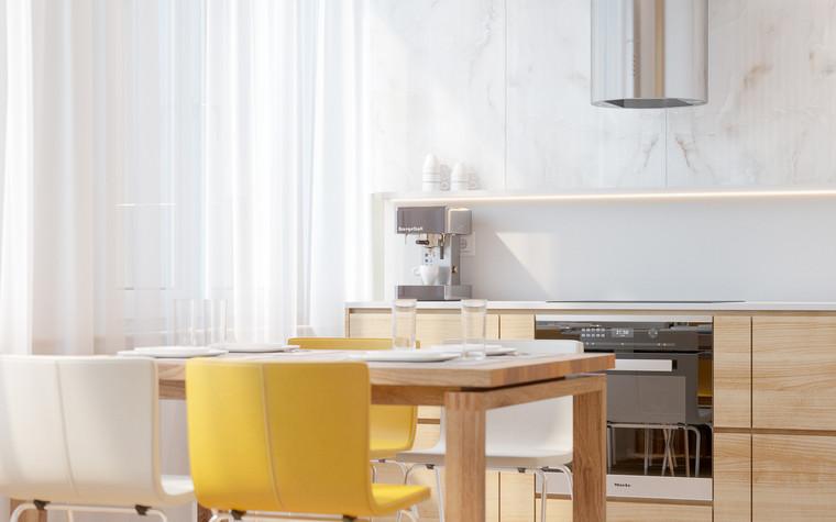 Квартира. кухня из проекта Comfort, фото №90466