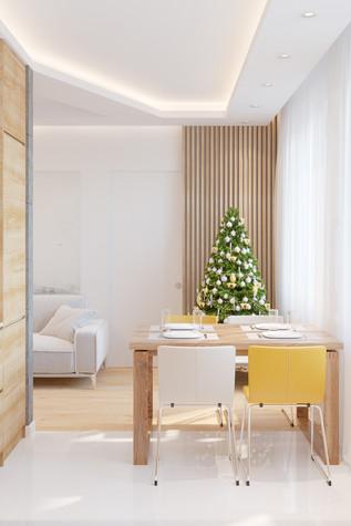 Квартира. кухня из проекта Comfort, фото №90468