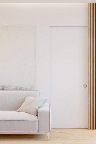 Квартира. гостиная из проекта Comfort, фото №90479