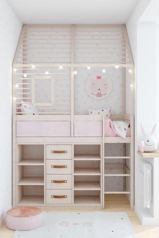 Квартира. детская из проекта Comfort, фото №90470