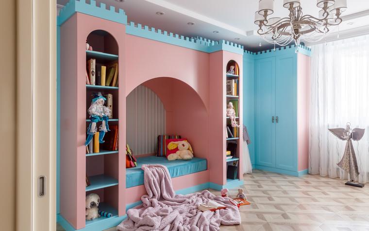 Квартира. детская из проекта Мечты сбываются, фото №90748