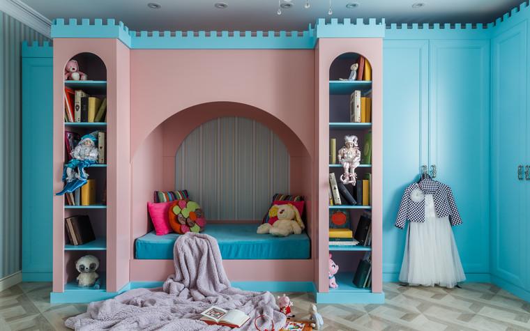 Квартира. детская из проекта Мечты сбываются, фото №90750