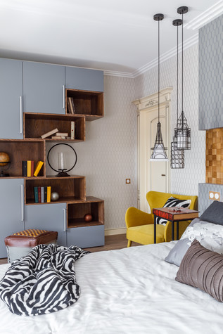 Квартира. спальня из проекта Мечты сбываются, фото №90743