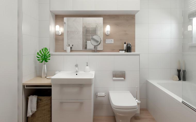 Квартира. ванная из проекта Квартира в Калининграде, фото №90936