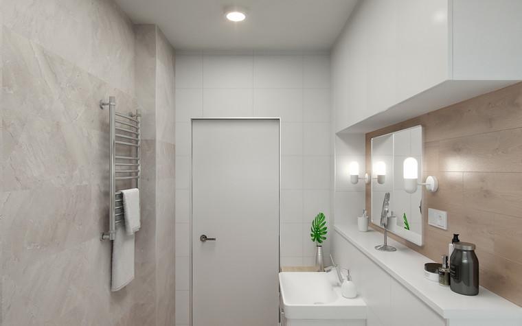 Квартира. ванная из проекта Квартира в Калининграде, фото №90937