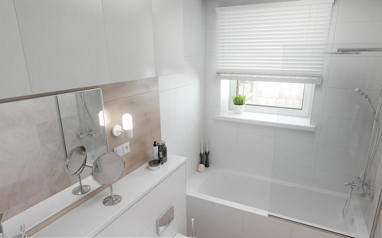 Квартира. ванная из проекта Квартира в Калининграде, фото №90939