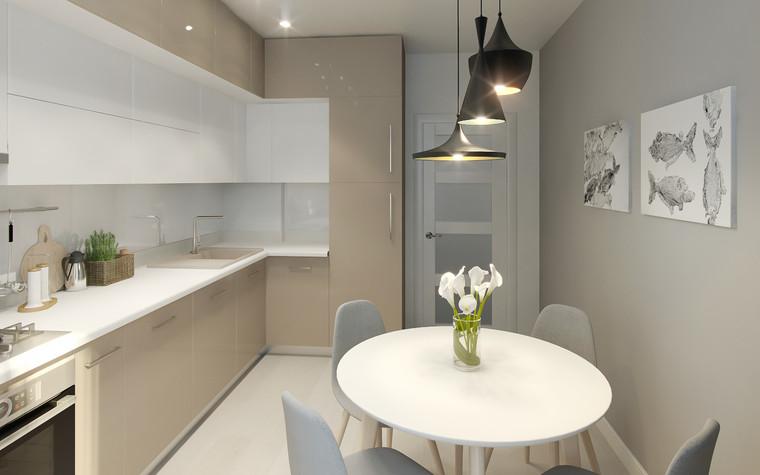 Квартира. кухня из проекта Квартира в Калининграде, фото №90927