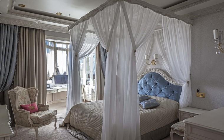 Квартира. спальня из проекта Пентхаус в ЖК Доминион, фото №91702