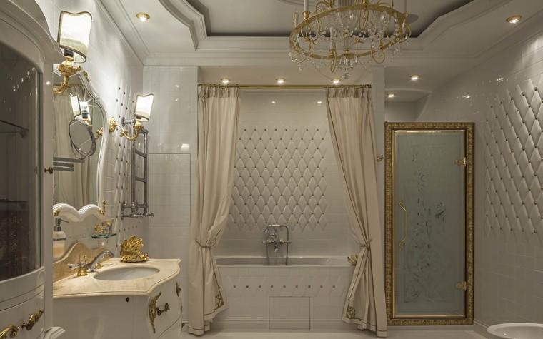 Квартира. ванная из проекта Пентхаус в ЖК Доминион, фото №91714