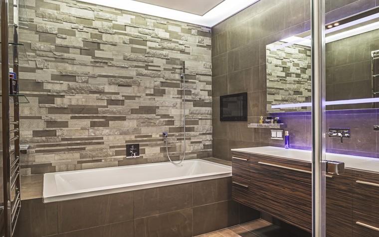 Квартира. ванная из проекта Пентхаус в ЖК Доминион, фото №91711