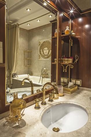 Квартира. ванная из проекта Пентхаус в ЖК Доминион, фото №91712