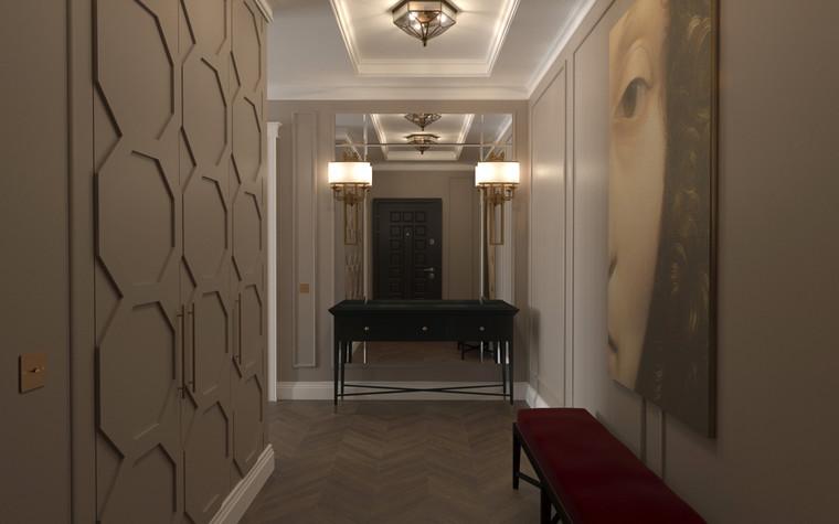 Квартира. коридор из проекта По следам Возрождения, фото №91838