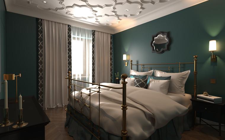 Квартира. спальня из проекта По следам Возрождения, фото №91843