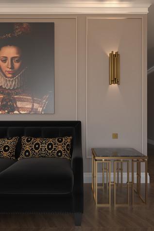 Квартира. гостиная из проекта По следам Возрождения, фото №91841