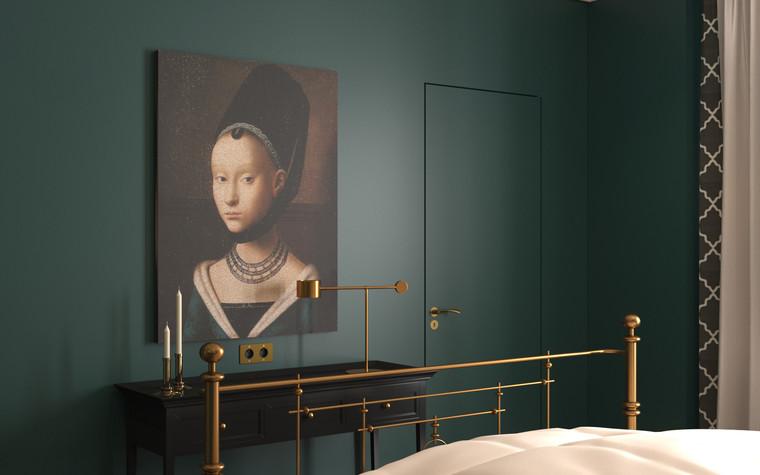 Квартира. спальня из проекта По следам Возрождения, фото №91845