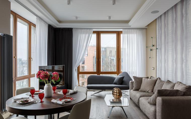 Квартира. гостиная из проекта «Интерьер для миллениала», фото №91861