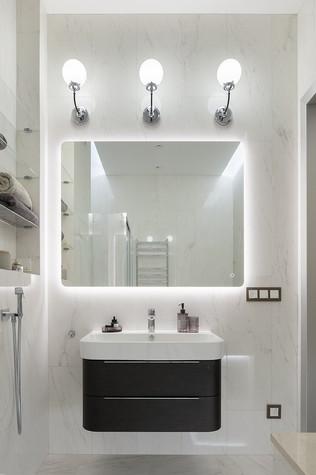 Квартира. ванная из проекта «Интерьер для миллениала», фото №91869