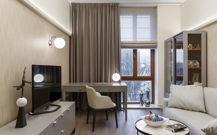 Квартира. кабинет из проекта «Интерьер для миллениала», фото №91873