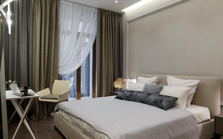 Квартира. спальня из проекта «Интерьер для миллениала», фото №91872