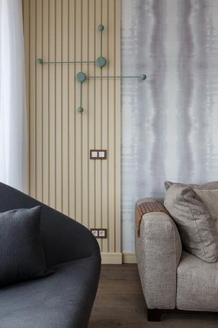 Квартира. гостиная из проекта «Интерьер для миллениала», фото №91864