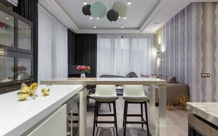 Квартира. кухня из проекта «Интерьер для миллениала», фото №91877