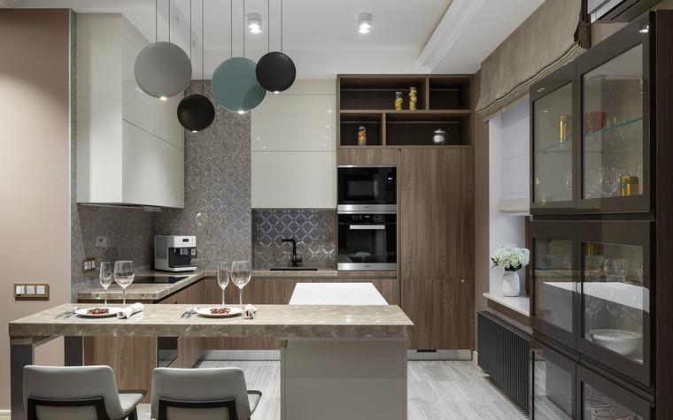 Квартира. кухня из проекта «Интерьер для миллениала», фото №91878