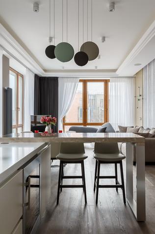 Квартира. кухня из проекта «Интерьер для миллениала», фото №91874