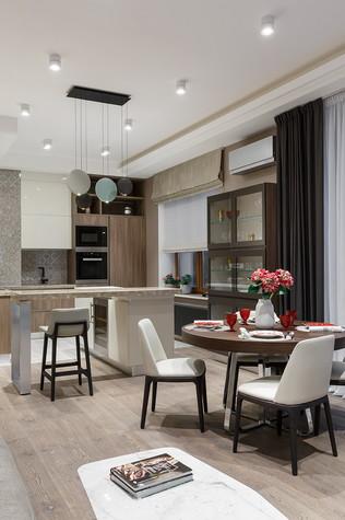 Квартира. кухня из проекта «Интерьер для миллениала», фото №91876