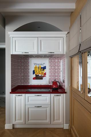Квартира. кухня из проекта Эклектика в Минске, фото №92130