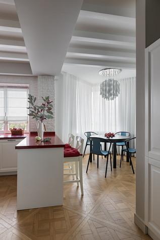 Квартира. кухня из проекта Эклектика в Минске, фото №92131