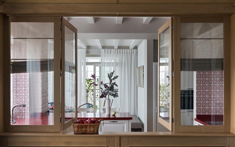 Квартира. кухня из проекта Эклектика в Минске, фото №92132