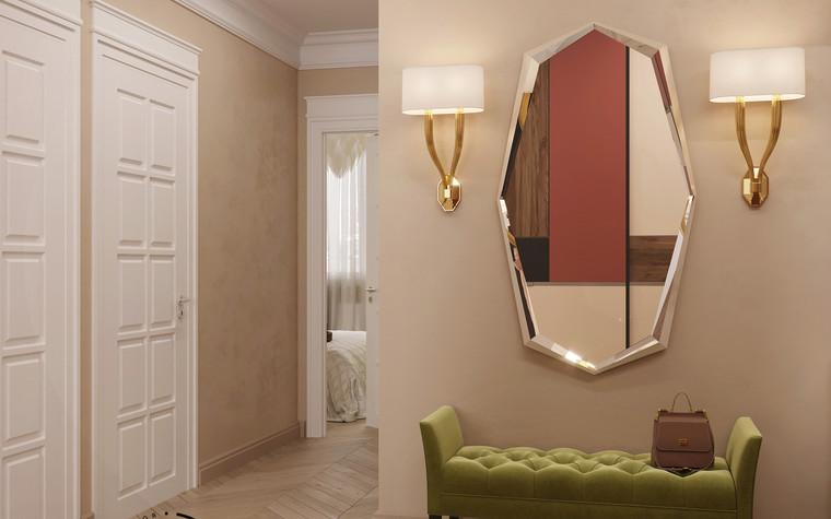 Квартира. прихожая из проекта Гармония роскоши и природы в ЖК Татьянин Парк, фото №93812