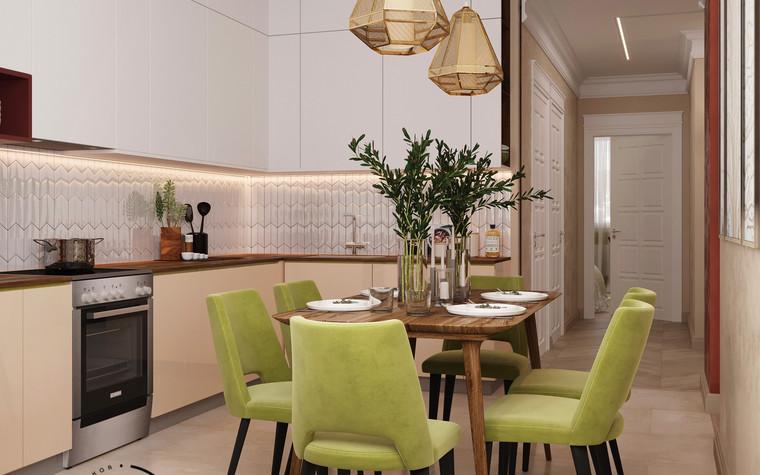 Квартира. кухня из проекта Гармония роскоши и природы в ЖК Татьянин Парк, фото №93807