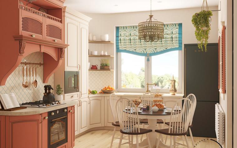 Квартира. кухня из проекта Восток и Средиземноморье в ЖК Мишино, фото №93869