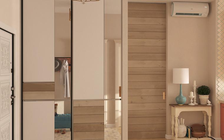 Квартира. прихожая из проекта Восток и Средиземноморье в ЖК Мишино, фото №93874