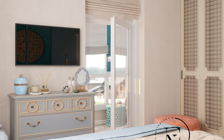 Квартира. спальня из проекта Восток и Средиземноморье в ЖК Мишино, фото №93880