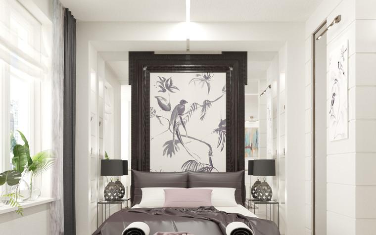 Квартира. спальня из проекта Басманная_LIFE, фото №93920