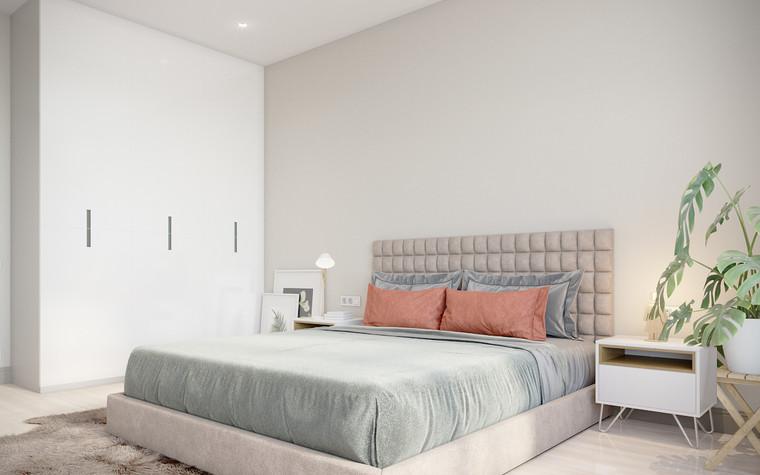 Квартира. спальня из проекта апартаменты за городом, фото №94096