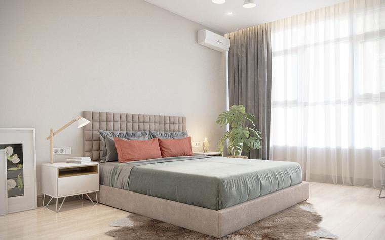 Квартира. спальня из проекта апартаменты за городом, фото №94097