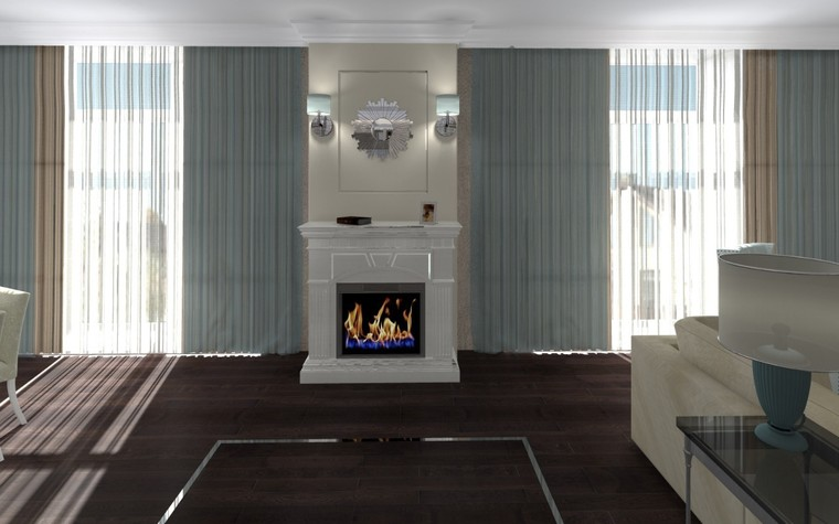 Квартира. гостиная из проекта Белый росы Современная классика, фото №94696
