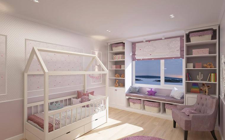 Квартира. детская из проекта Семейная идиллия, фото №94730