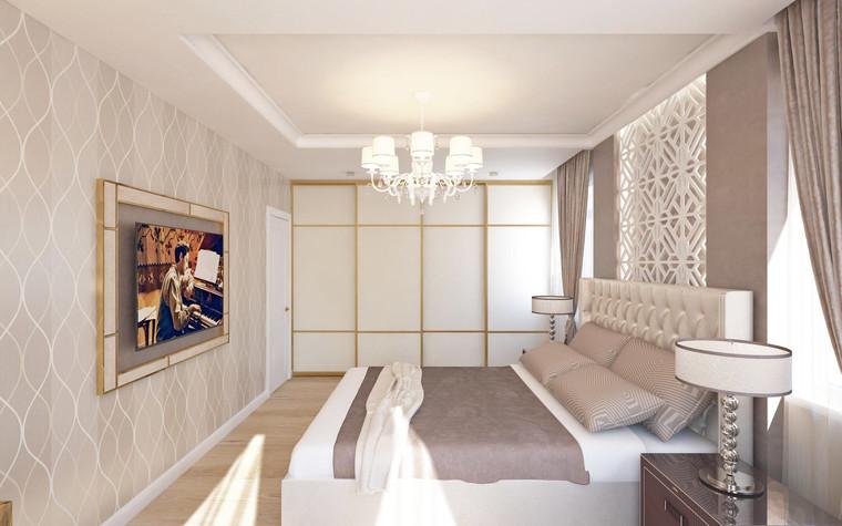 Квартира. спальня из проекта Семейная идиллия, фото №94713