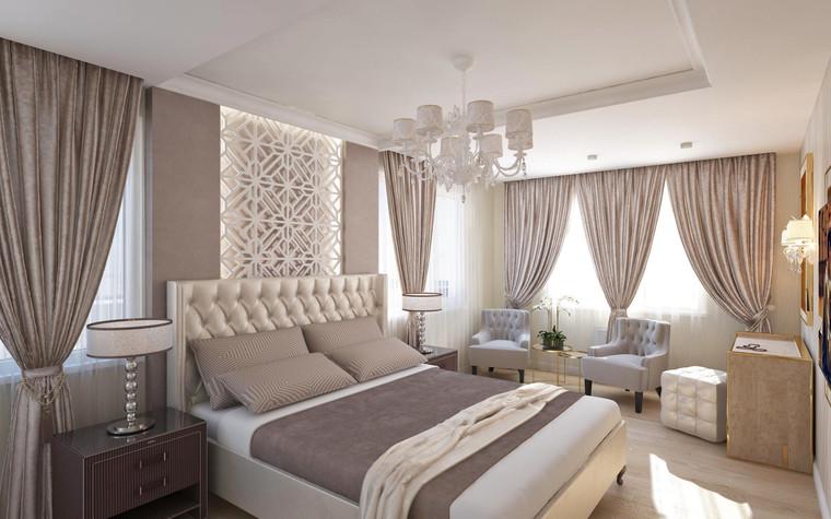 Квартира. спальня из проекта Семейная идиллия, фото №94715