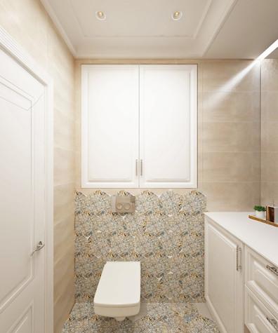 Квартира. санузел из проекта Семейная идиллия, фото №94733