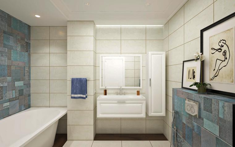 Квартира. ванная из проекта Семейная идиллия, фото №94736