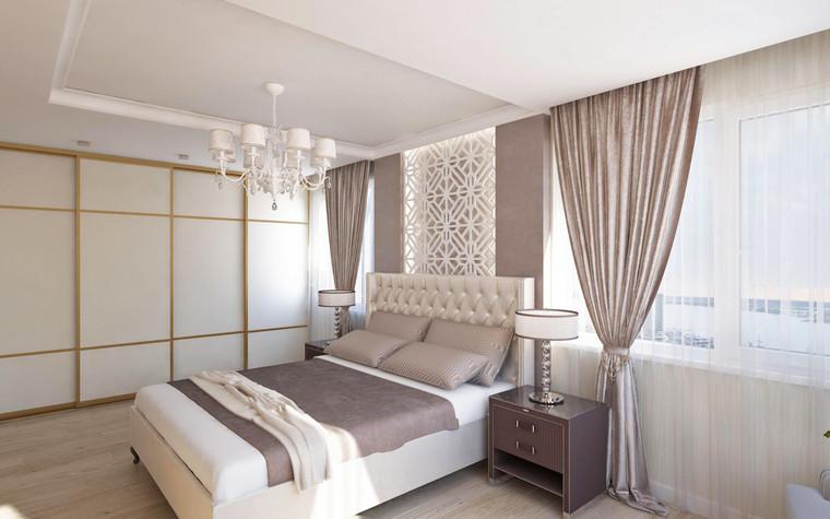 Квартира. спальня из проекта Семейная идиллия, фото №94717