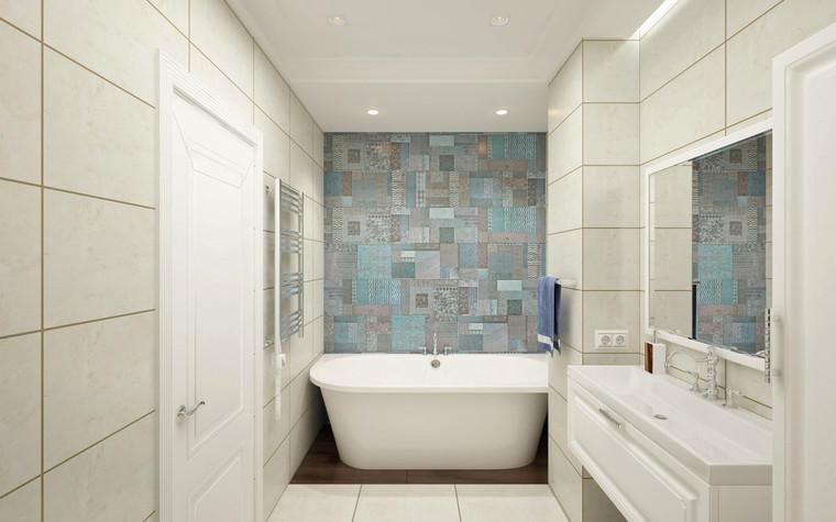 Квартира. ванная из проекта Семейная идиллия, фото №94738